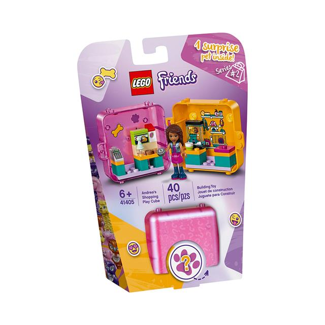 LEGO® Friends™ Andrea's Shopping Play Cube