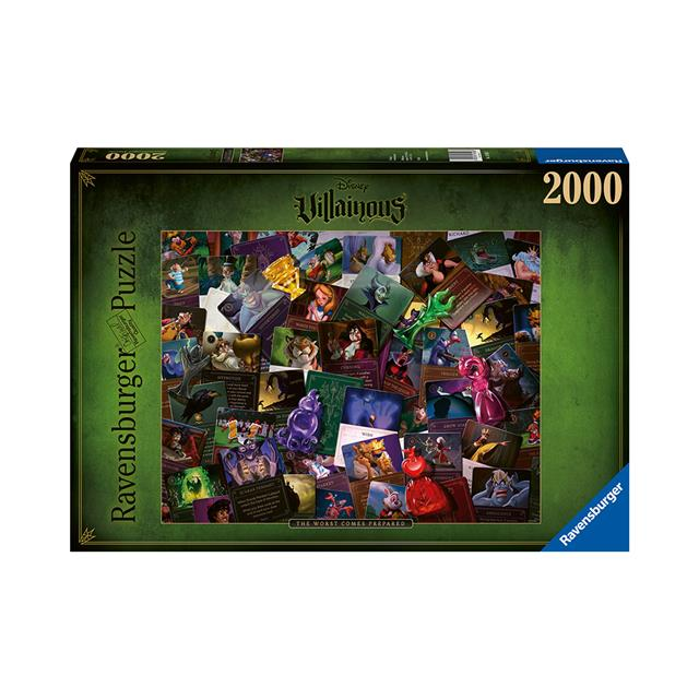 Ravensburger Disney Villainous All Villains 2000pc Puzzle