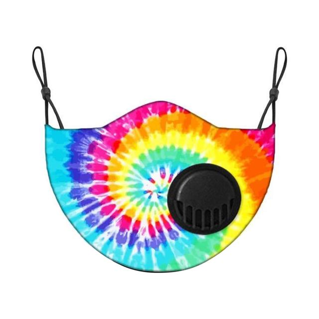 Living Royal Tie Dye Kids Face Mask with Filter