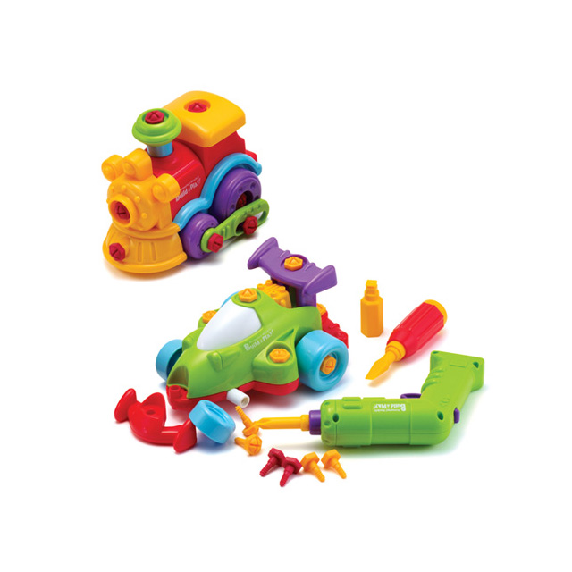 2-in-1 Build and Play Vehicles