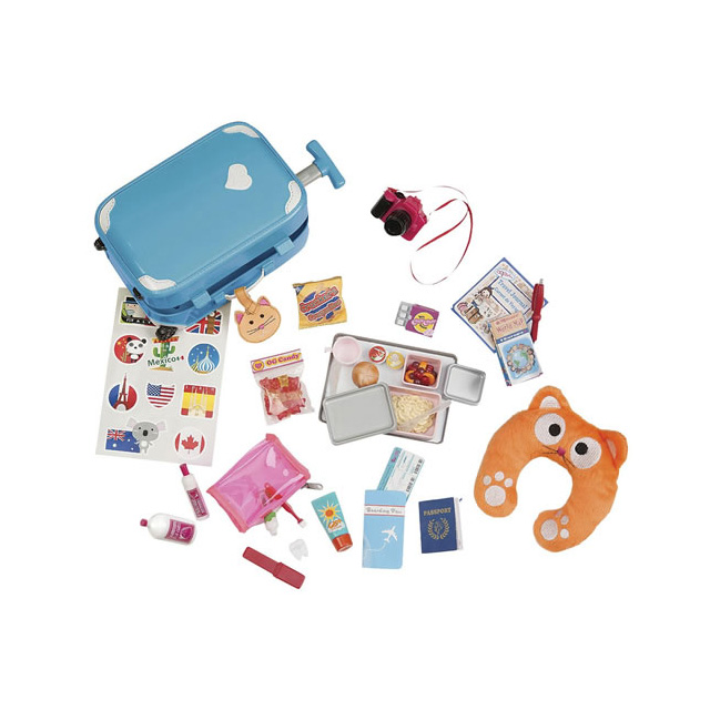 Our Generation Well Traveled Luggage Set