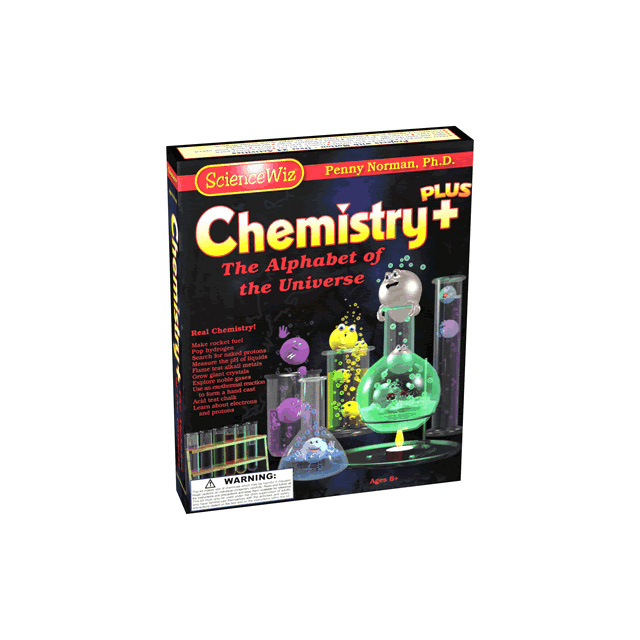 ScienceWiz Chemistry Plus - The Alphabet of the Universe Kit 2.O