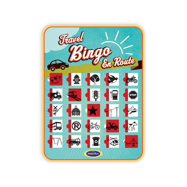 PlaSmart Travel Bingo Assorted