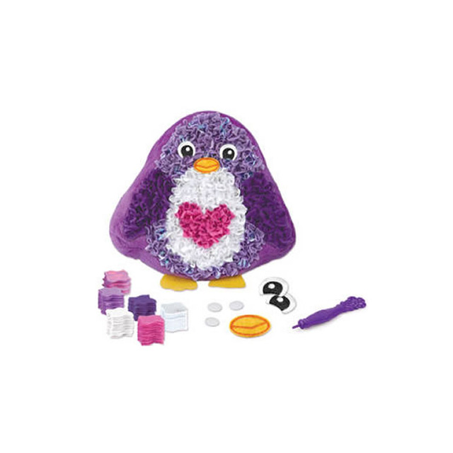 The Orb Factory Plush Craft Penguin Pillow