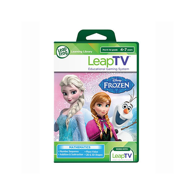 LeapFrog LeapTV Disney Frozen Arendelle's Winter Festival Educational, Active Video Game