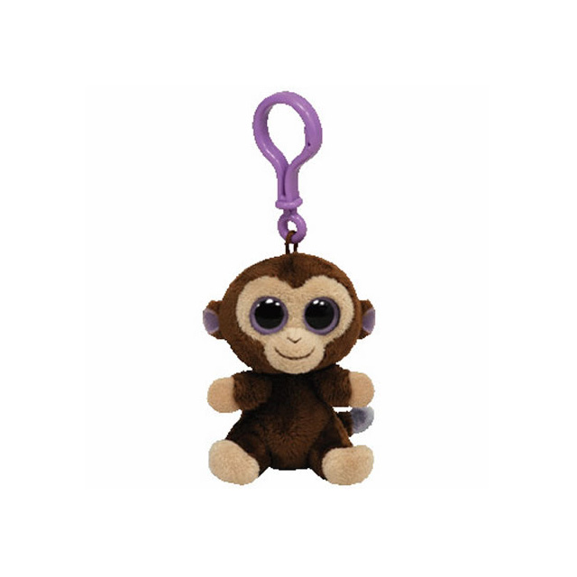 26b9cd6887f Ty Beanie Boos Clip-On Coconut Monkey