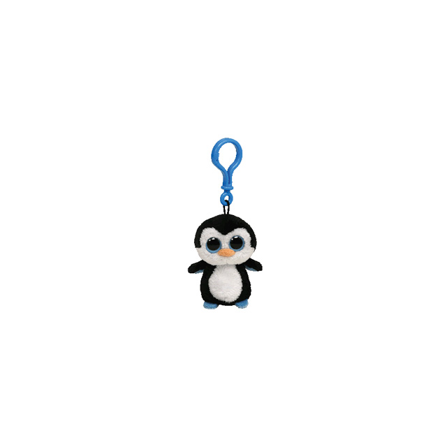 9b1714a7178 Ty Beanie Boos Clip-On Waddles Penguin