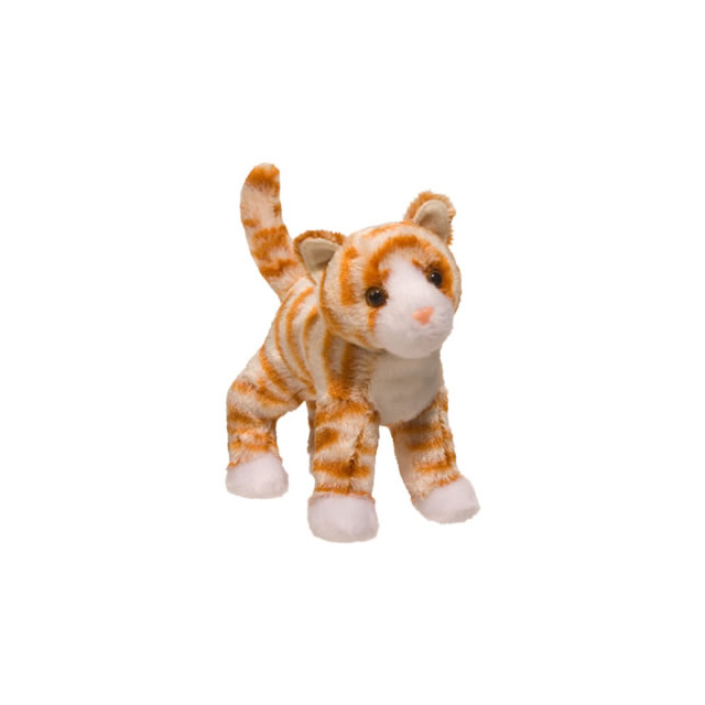 Douglas Hally Orange Cat Plush