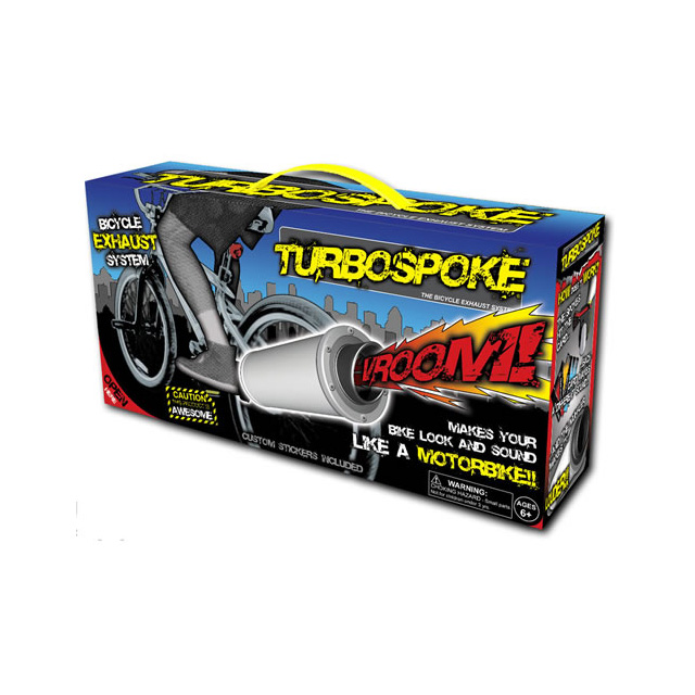 Schylling Turbospoke Bicycle Exhaust System