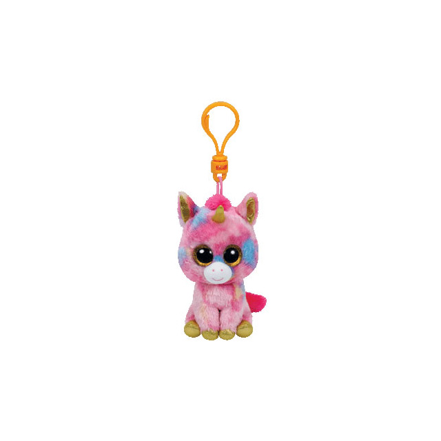 Ty Beanie Boos Clip-On Fantasia the Unicorn