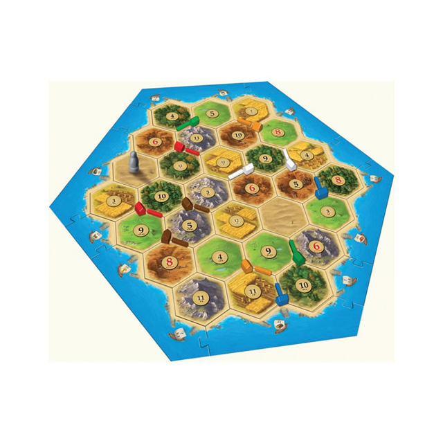 Catan Game 5-6 Player Extension Pack