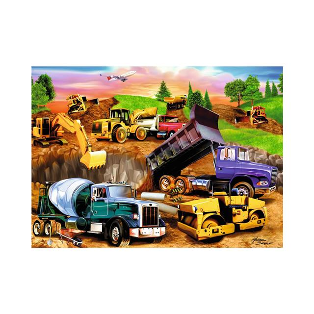 Ravensburger Construction 60pc Puzzle