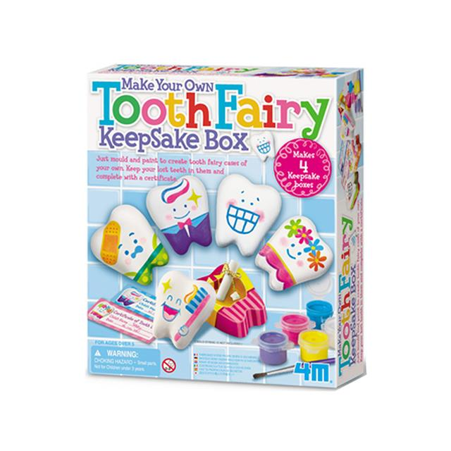 4M Make Your Own Tooth Fairy Keepsake Box Kit
