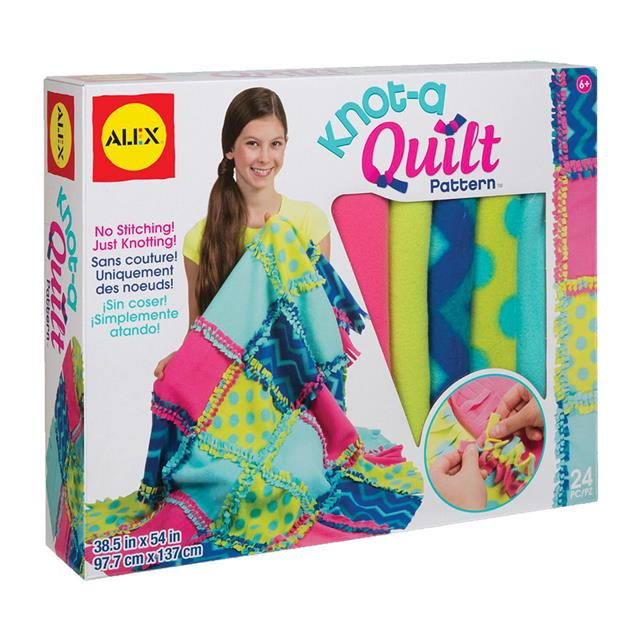 Alex Knot-A-Quilt Pattern Kit