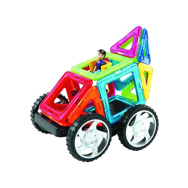 Magformers Wow 16 Piece Vehicle Set