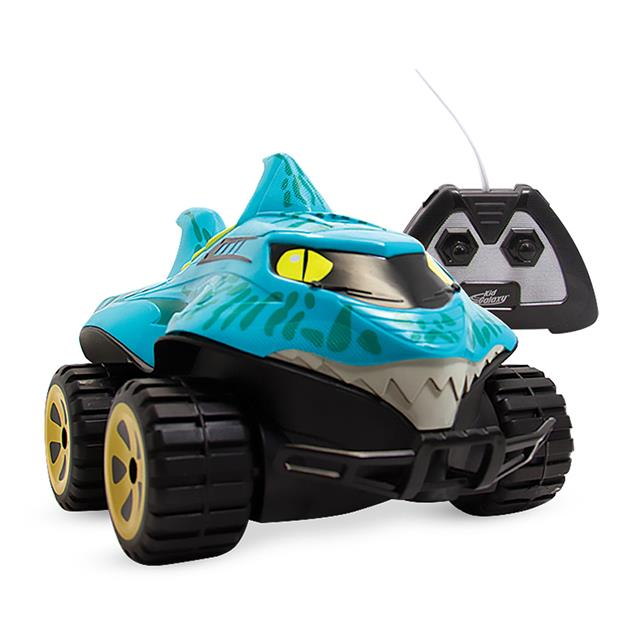 Kid Galaxy Mega Morphibian Amphibious RC Shark