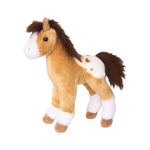 Douglas Freckles Golden Appaloosa Foal Small Plush