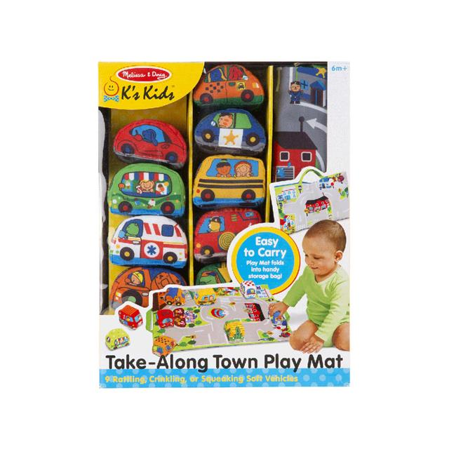 K's Kids Take-Along Town Play Mat