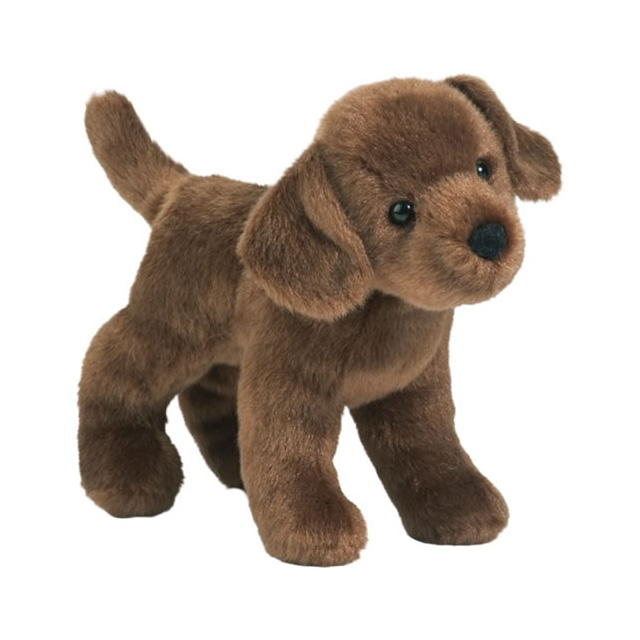 Douglas Brownie Chocolate Lab Puppy Plush 8