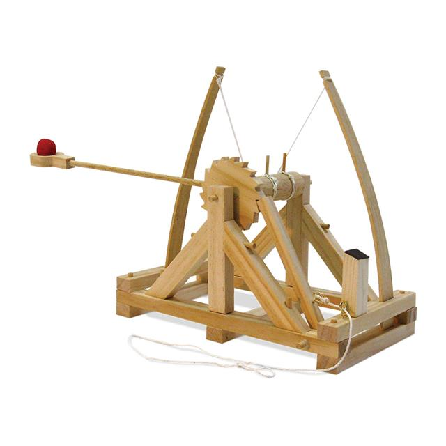 Pathfinders Leonardo da Vinci Wooden Catapult Kit