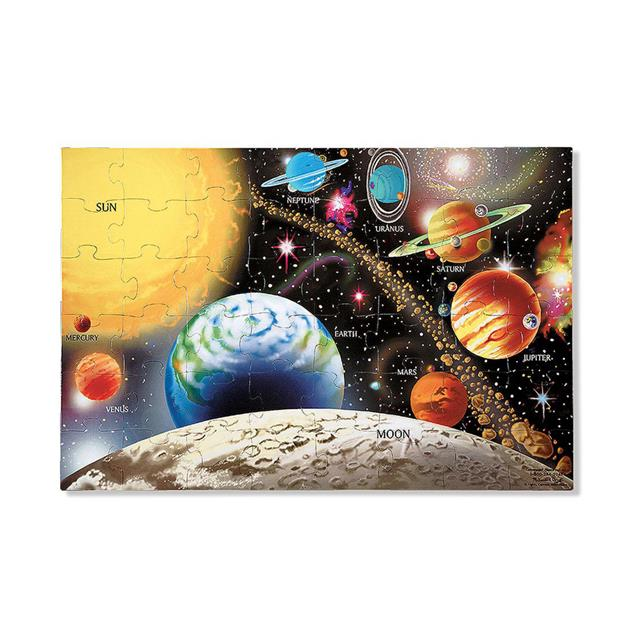 Melissa & Doug Extra Large Solar System Floor Puzzle