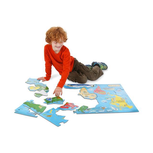 Mastermind toys melissa doug world map extra large floor puzzle melissa doug world map extra large floor puzzle gumiabroncs Image collections