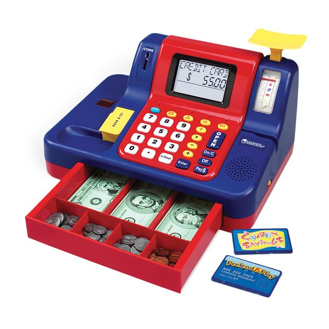Cash Register with Scale and CDN Currency