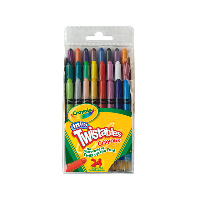 Crayola Twistables Mini 24 Pack