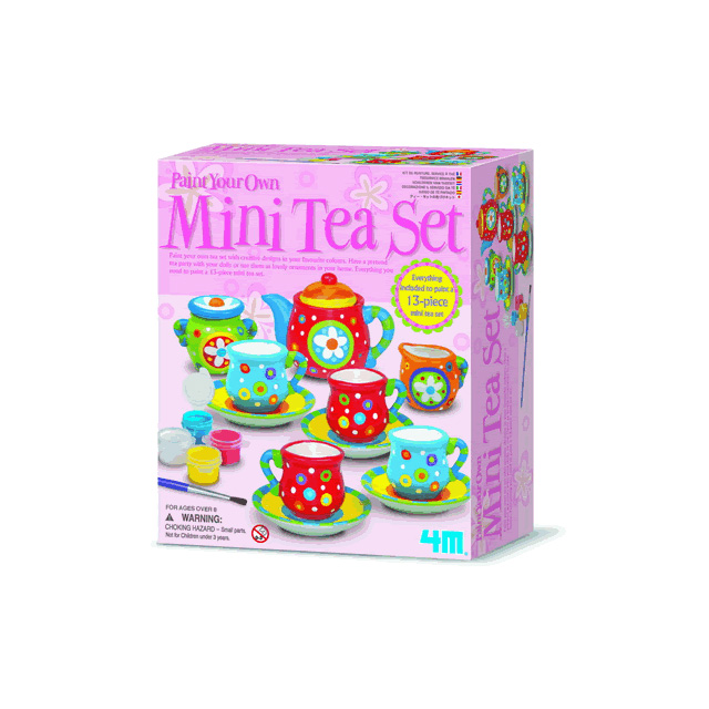 4M Mini Tea Set Painting Kit