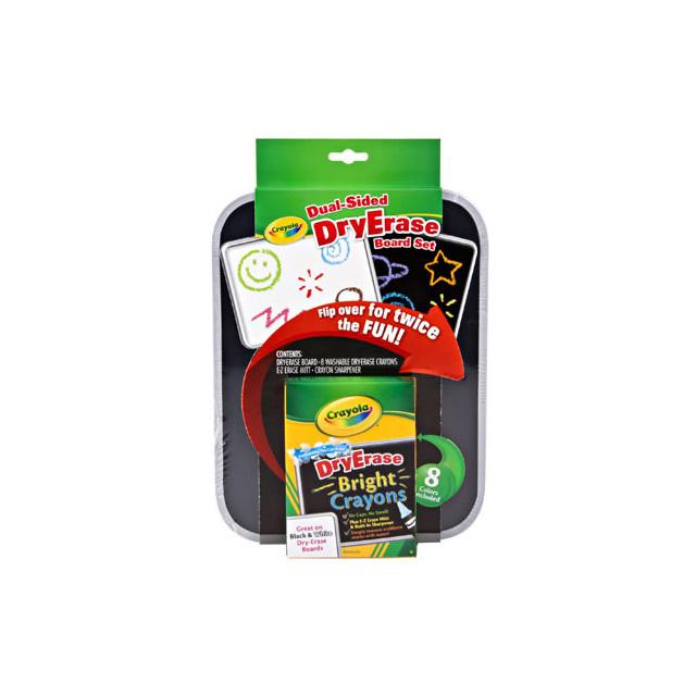 Crayola Dual Sided Dry Erase Board Set