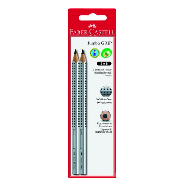 faber castell jumbo grip pencils 2 pack. Black Bedroom Furniture Sets. Home Design Ideas