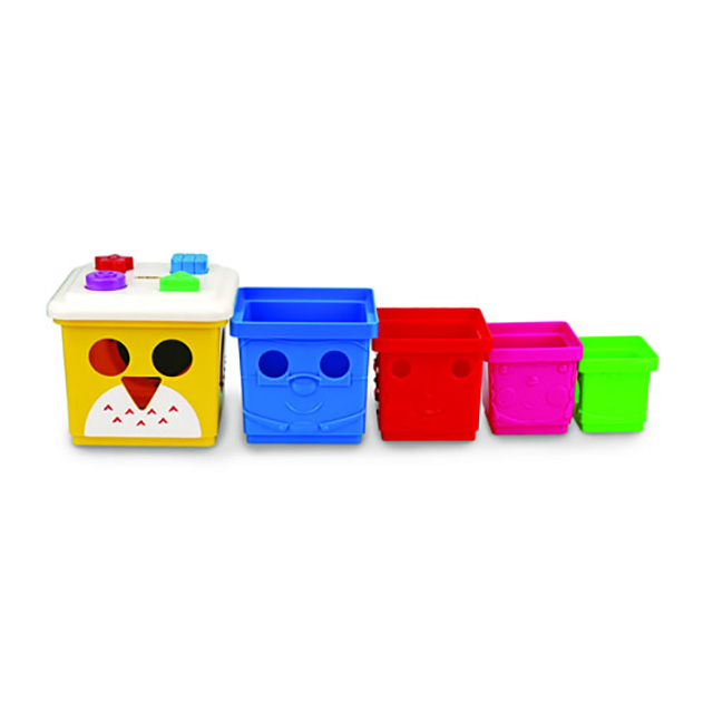 K's Kids Owl! The Stacking Bucket Family
