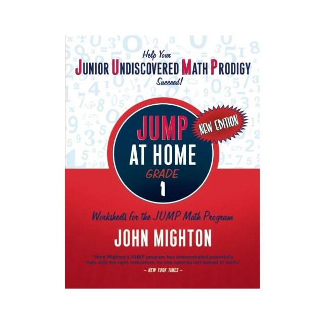 Jump At Home Grade 1 Worksheets For The Jump Math Program Book