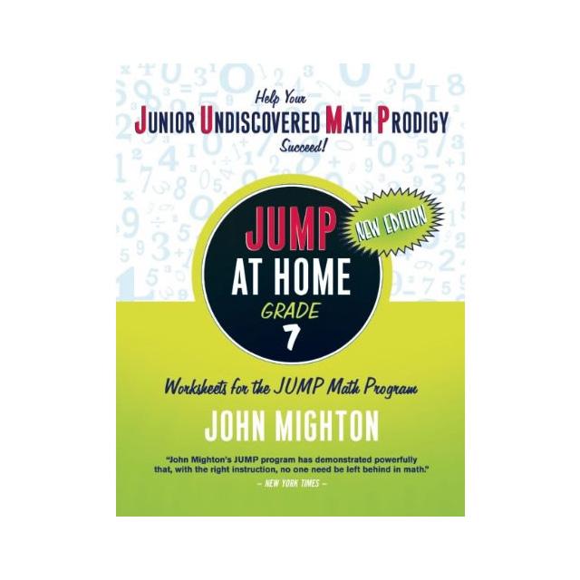 Jump At Home Grade 7 Worksheets For The Jump Math Program Book
