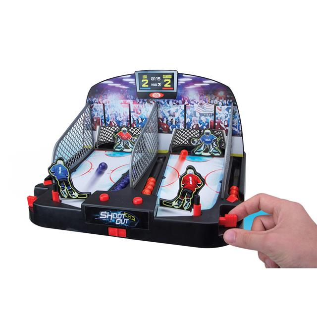 Shoot Out Motorized Hockey Game